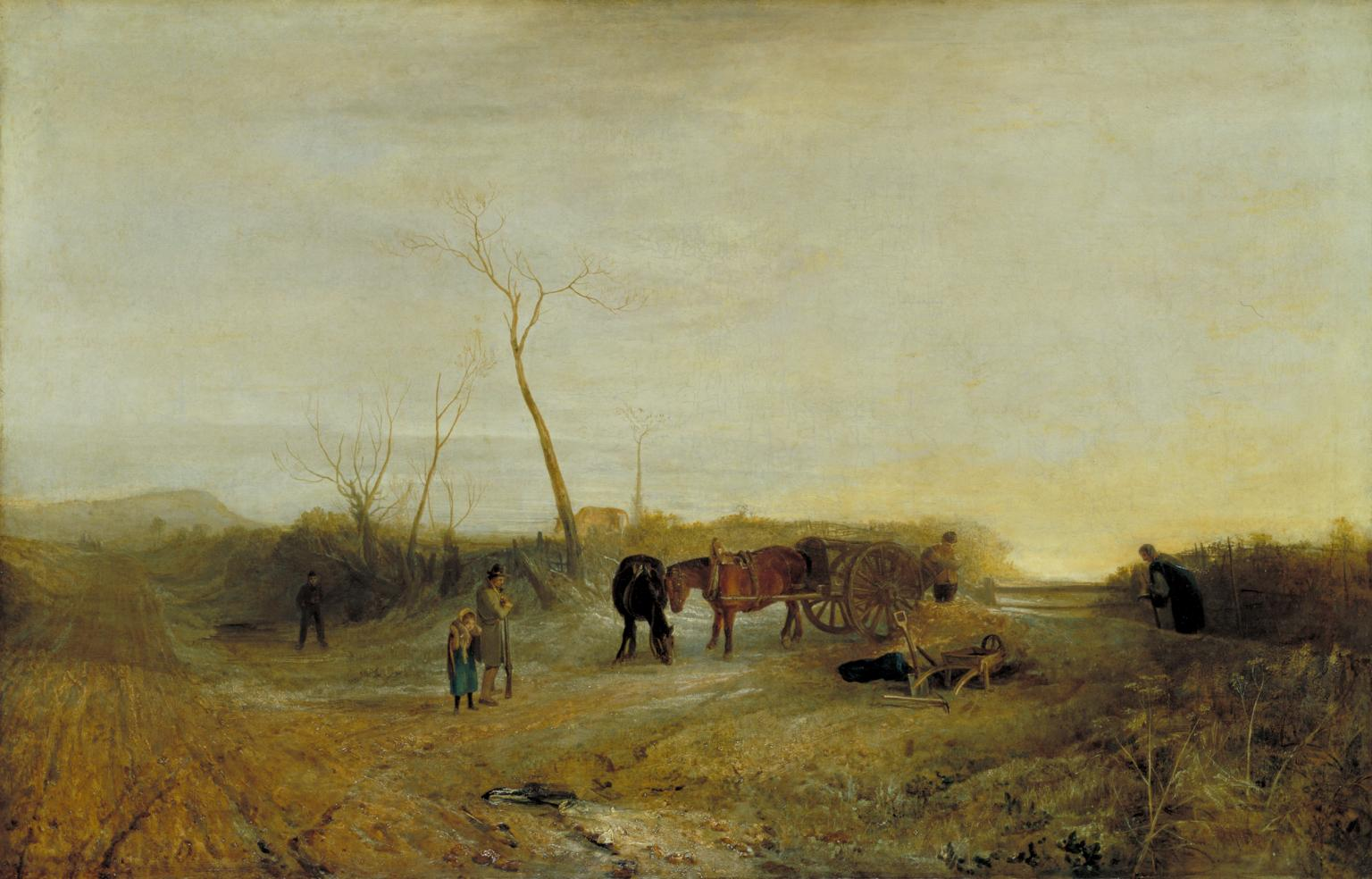Frosty Morning exhibited 1813 Joseph Mallord William Turner 1775-1851 Accepted by the nation as part of the Turner Bequest 1856 http://www.tate.org.uk/art/work/N00492