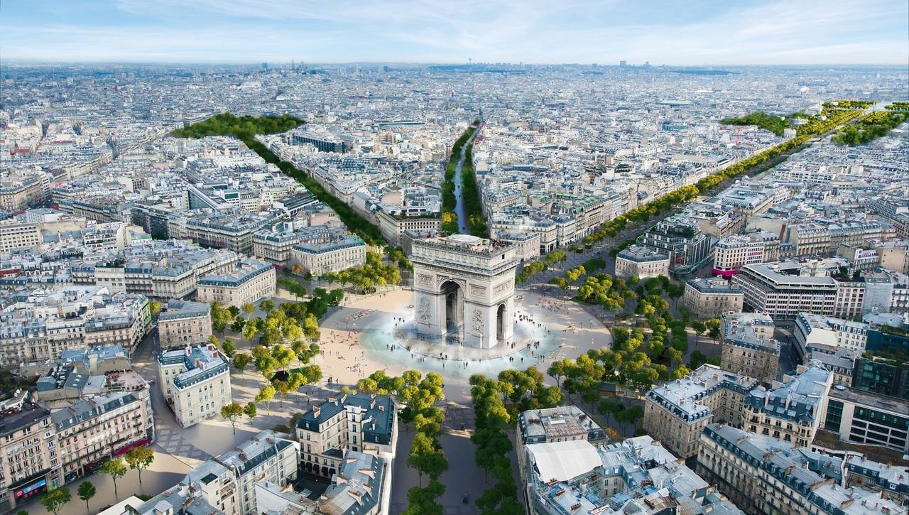 У Парижі планують перетворити Єлисейські поля на сад