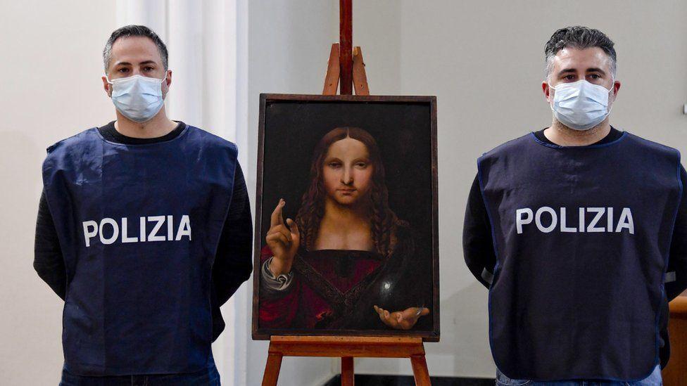 У Неаполі знайшли вкрадену копію «Спасителя світу»