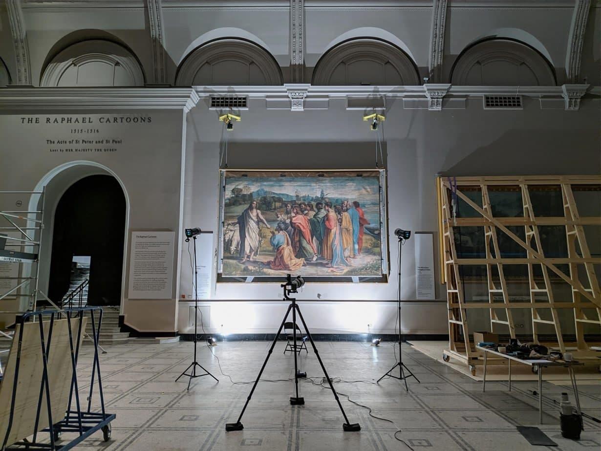 Британський музей завантажив роботи Рафаеля у високій роздільній здатності