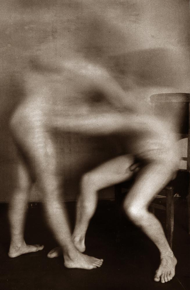 Сергій Солонський, з серії Body, 1993, срібно-желатиновий друк, тонування