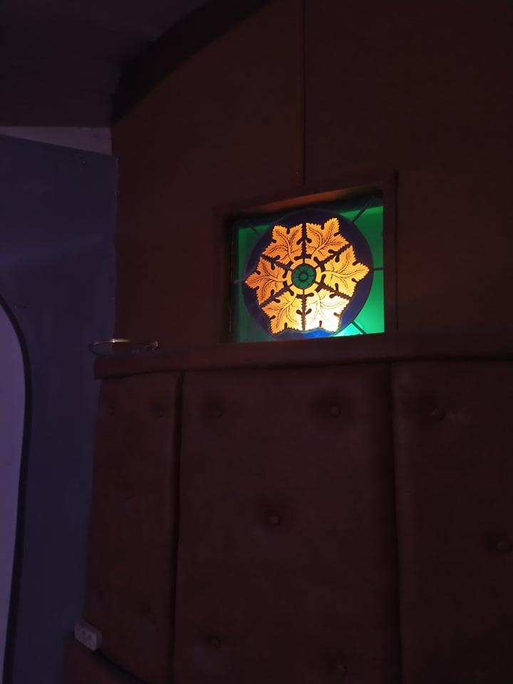 Відновлений світильник, фото Катерини Сірик