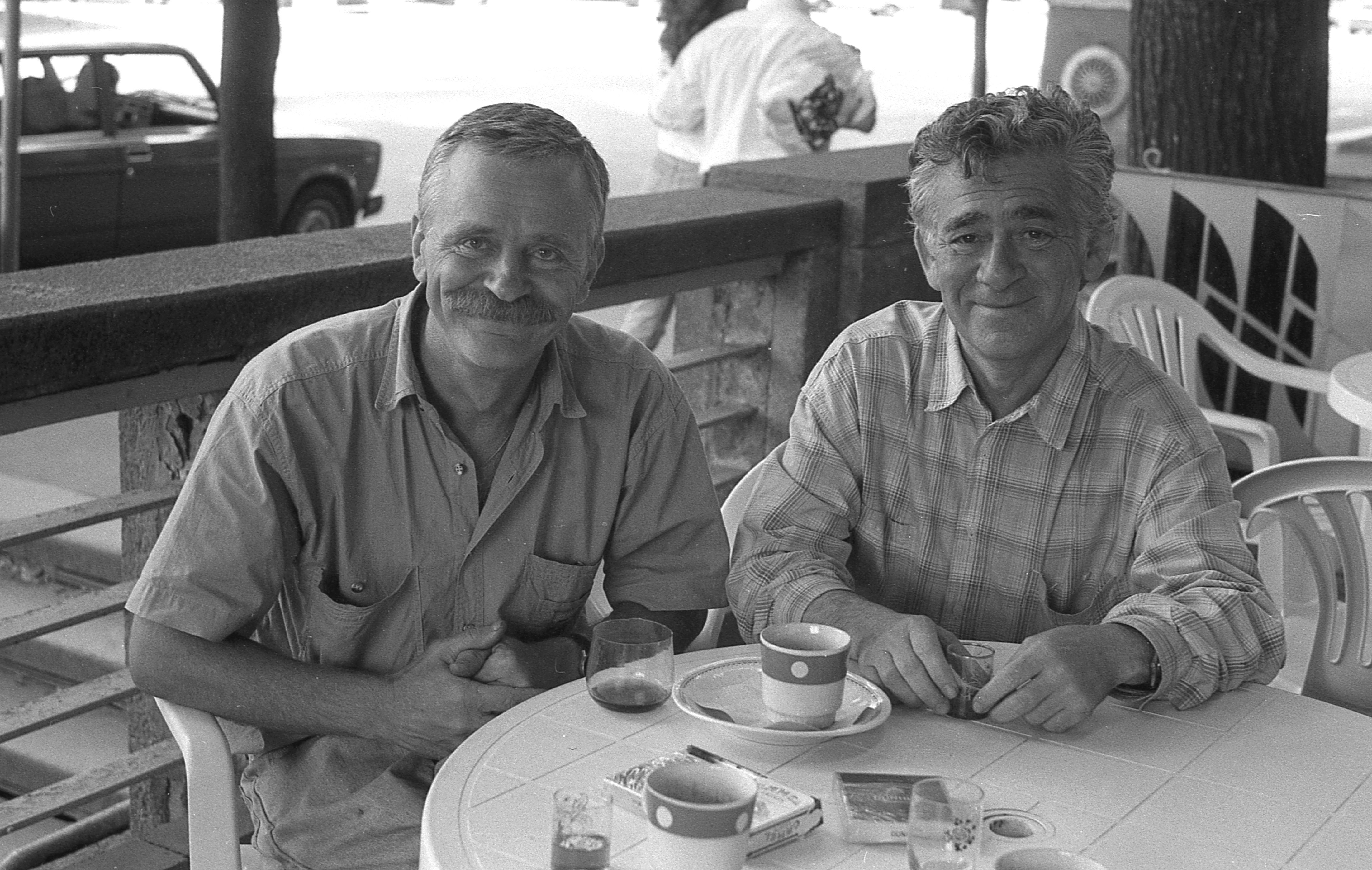 Віктор Марущенко. На фото Леонід Філенко та Віктор Розенберг, 1995