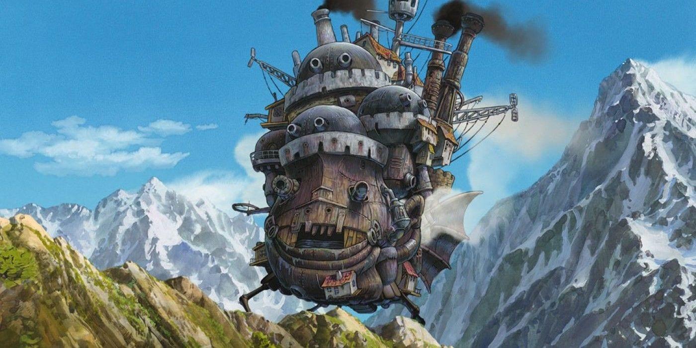 ©«Мандрівний замок», студія Ghibli