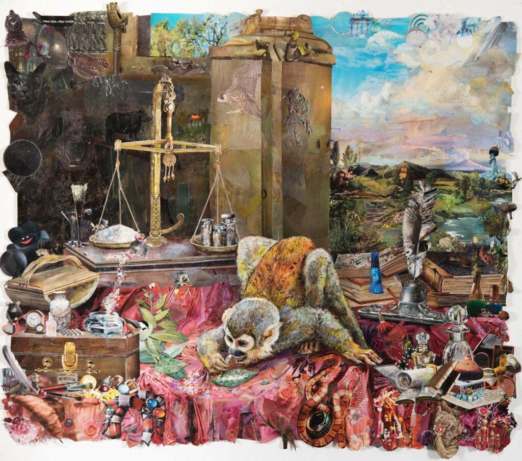 Олександра Чичкан. З проекту «Психодарвінізм. Нові цінності», 2019