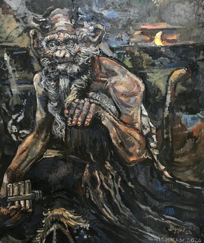 Ілля Чичкан. «Пан» Михайла Врубеля з проекту «Музейні джунглі», 2020