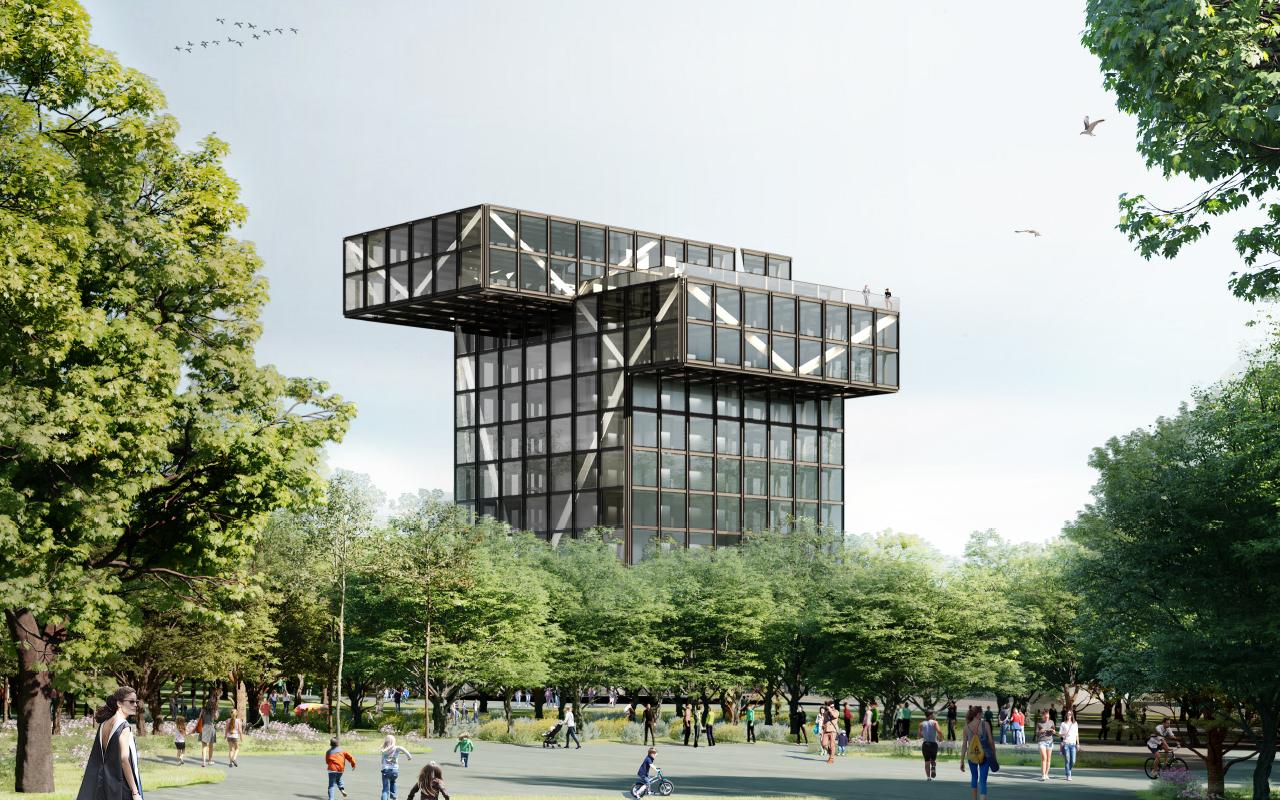 У Маріуполі збудують університет за проєктом бюро MASA Architects