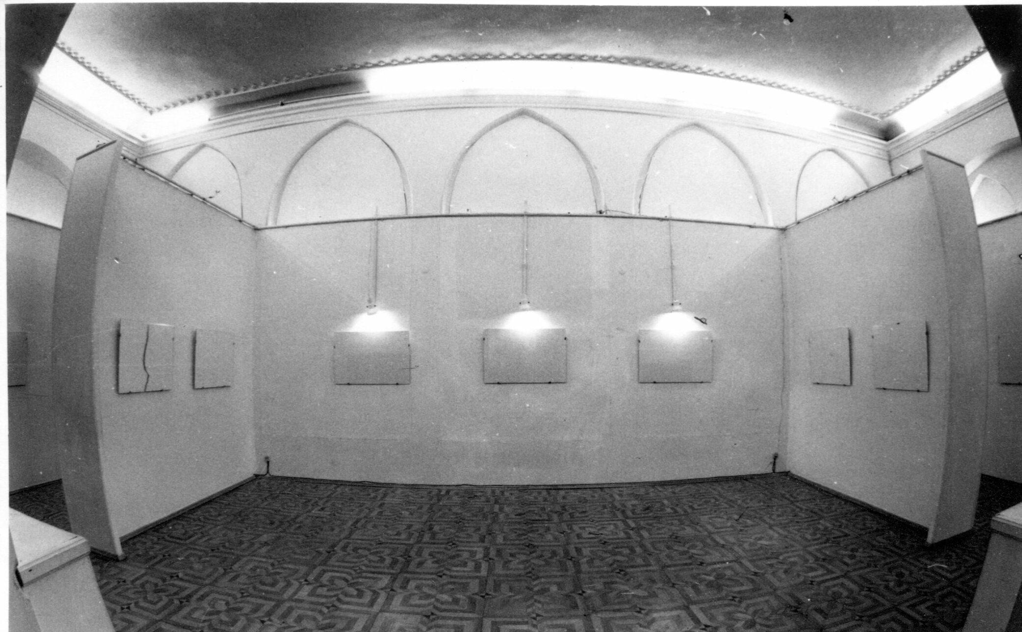 Експозиція виставки «Нульовий друк», «ТИРС», 1994