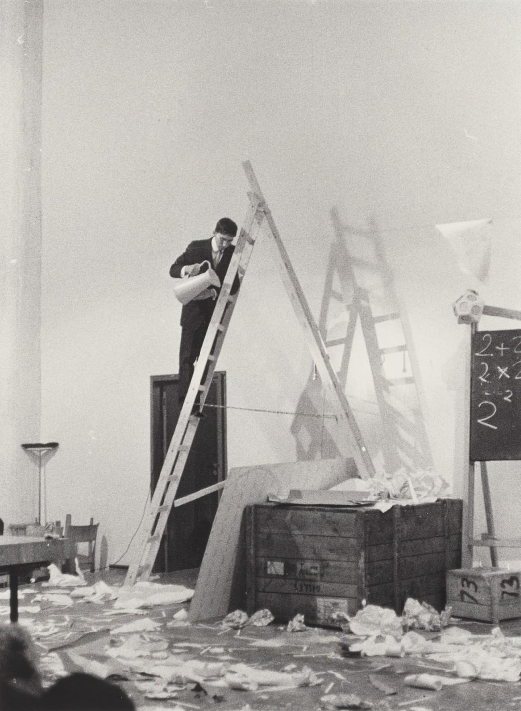Джордж Брехт, Drip Music, 1962 ©MOMA