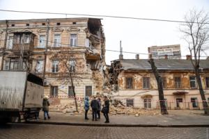 В Одесі обвалився будинок ХІХ століття