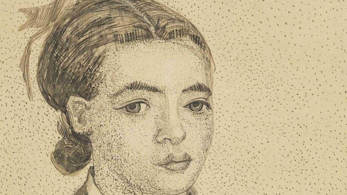 Малюнок Вінсента Ван Гога «Молода японка» продали за 10 мільйонів доларів
