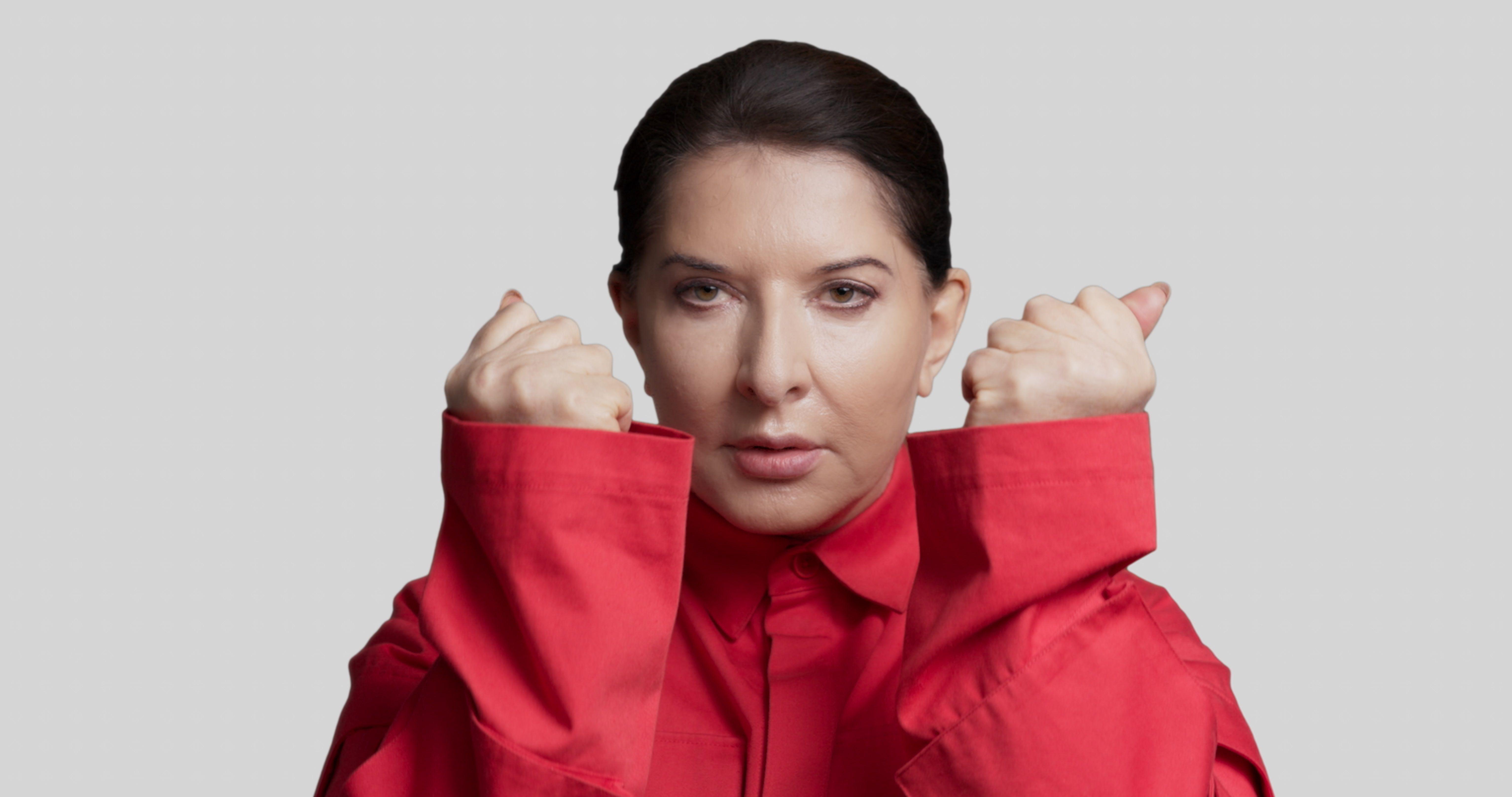 Марина Абрамович почне робити перформанси через WeTransfer