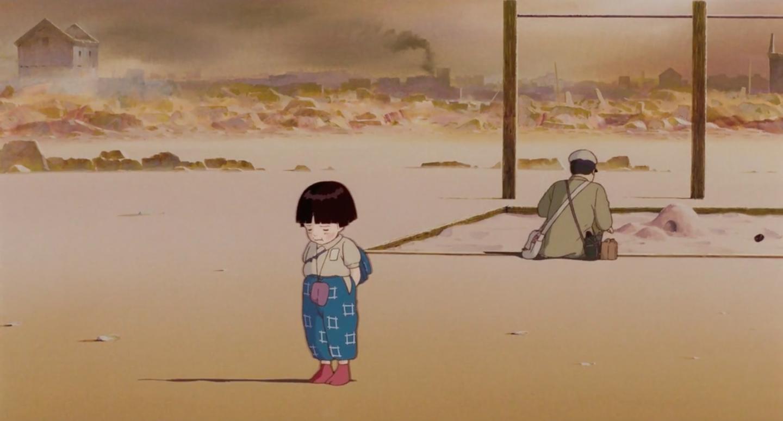 Кадр з аніме «Могила світлячків», 1988. Режисер: Ісао Такахата ©