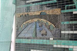 У Києві почали реставрувати мозаїку Ади Рибачук і Володимира Мельниченка