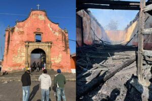 У Мексиці згоріла церква Святого апостола Якова