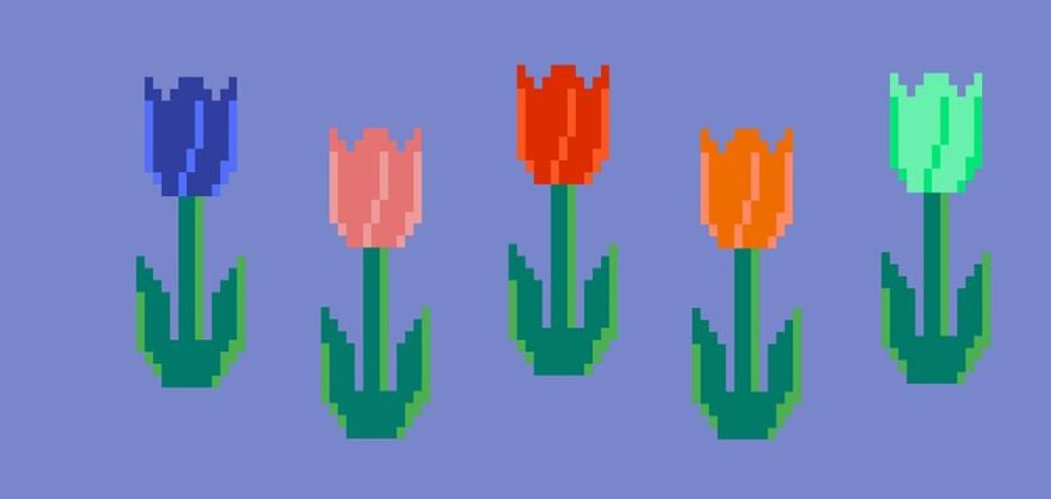 via Crypto Tulips