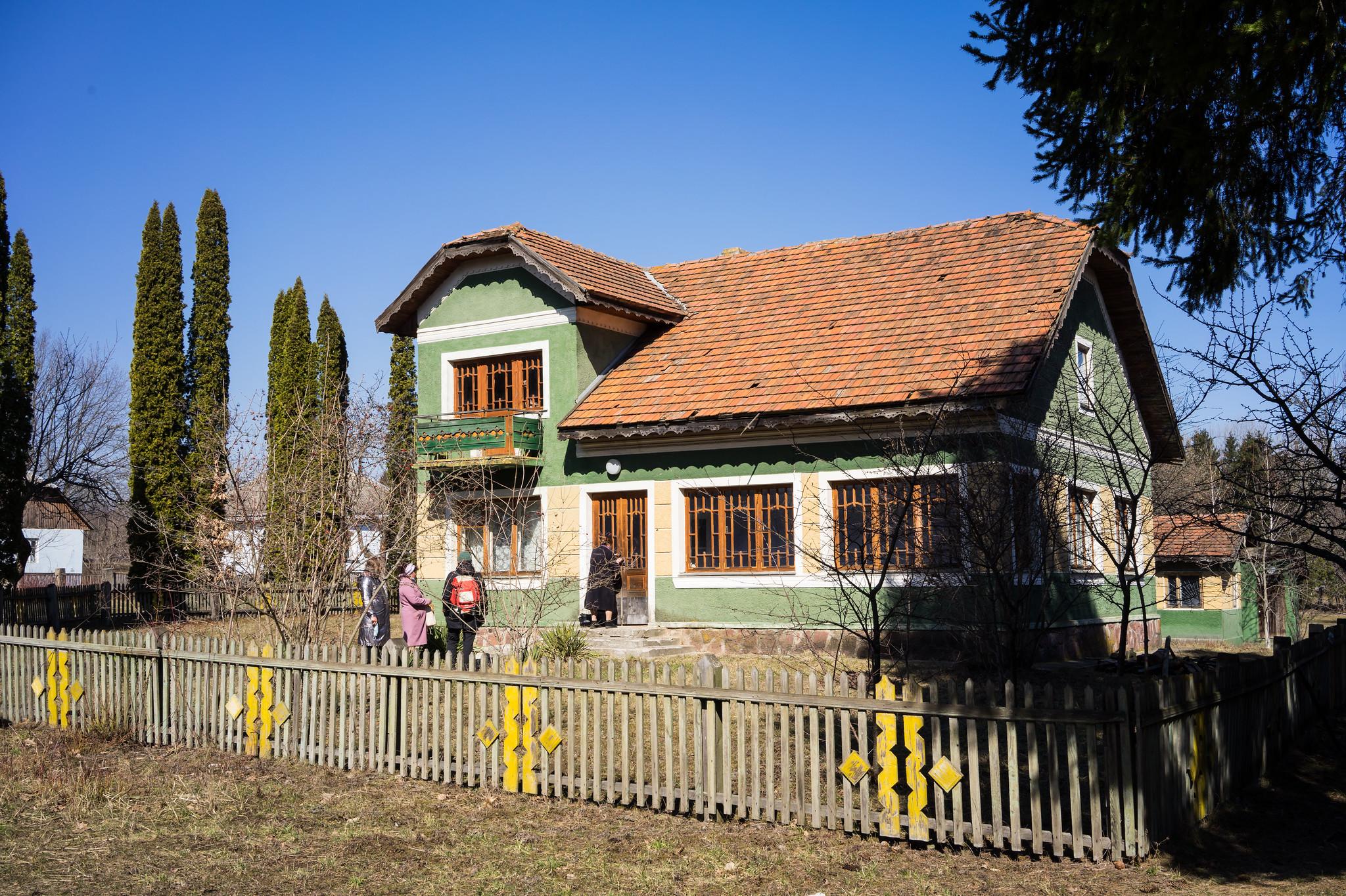 Будинок села Іспас Чернівецької області. Фото: Наталка Дяченко