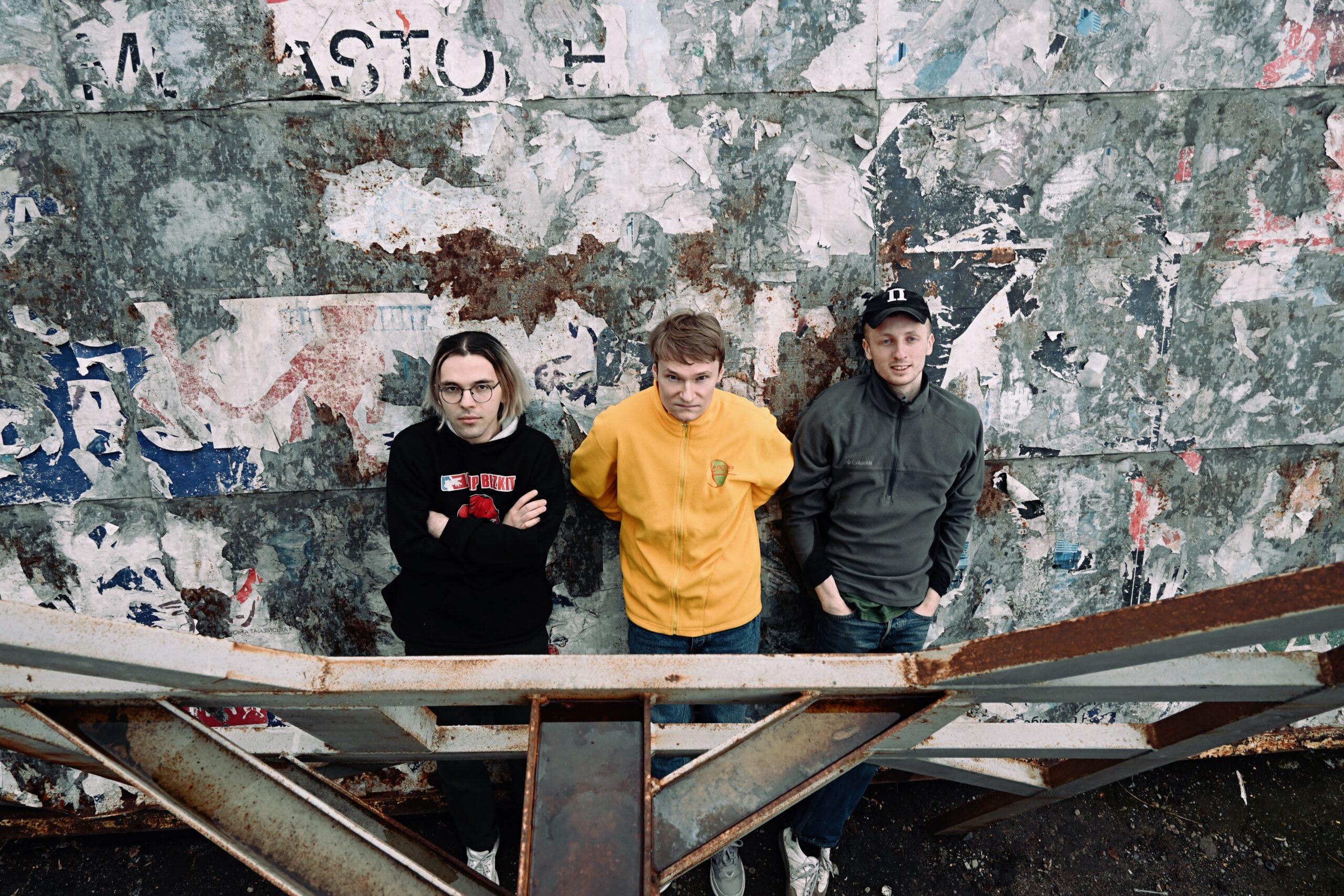 Редакція журналу «ПОТОП»: Серьога, Олесь та Влад. Фото: Маркіян Русул
