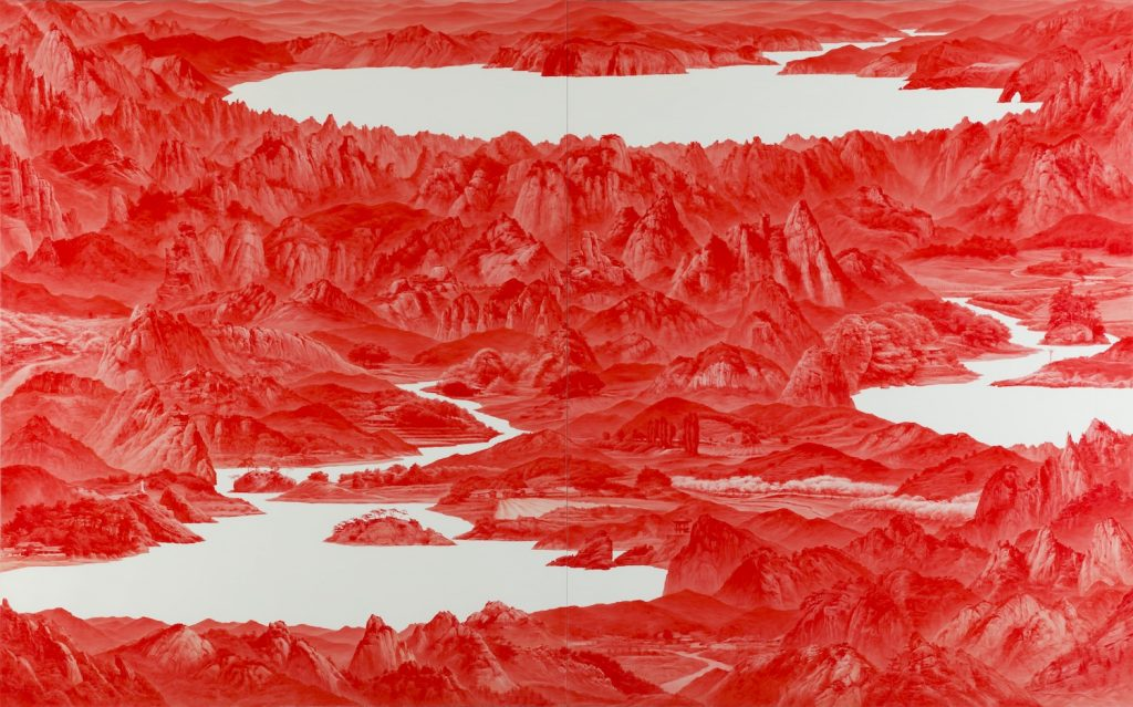 Sea Hyun Lee, Between Red33 (2007). ©Sigg Collection