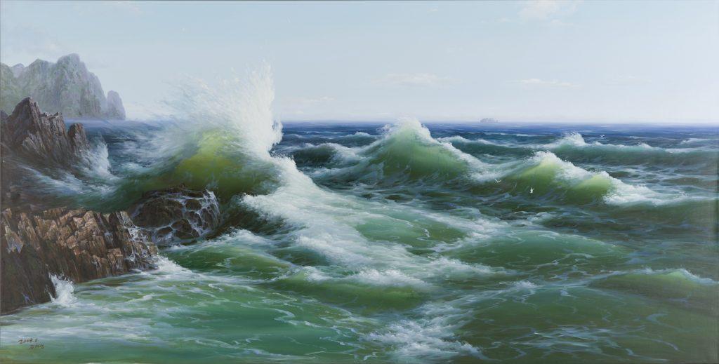 North Korea Collective, The Sea (2008). ©Sigg Collection