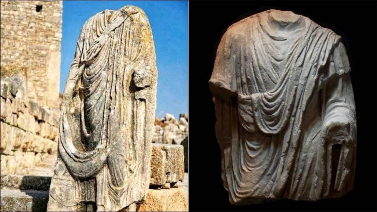 Італійська поліція випадково знайшла давньоримську скульптуру в Брюсселі