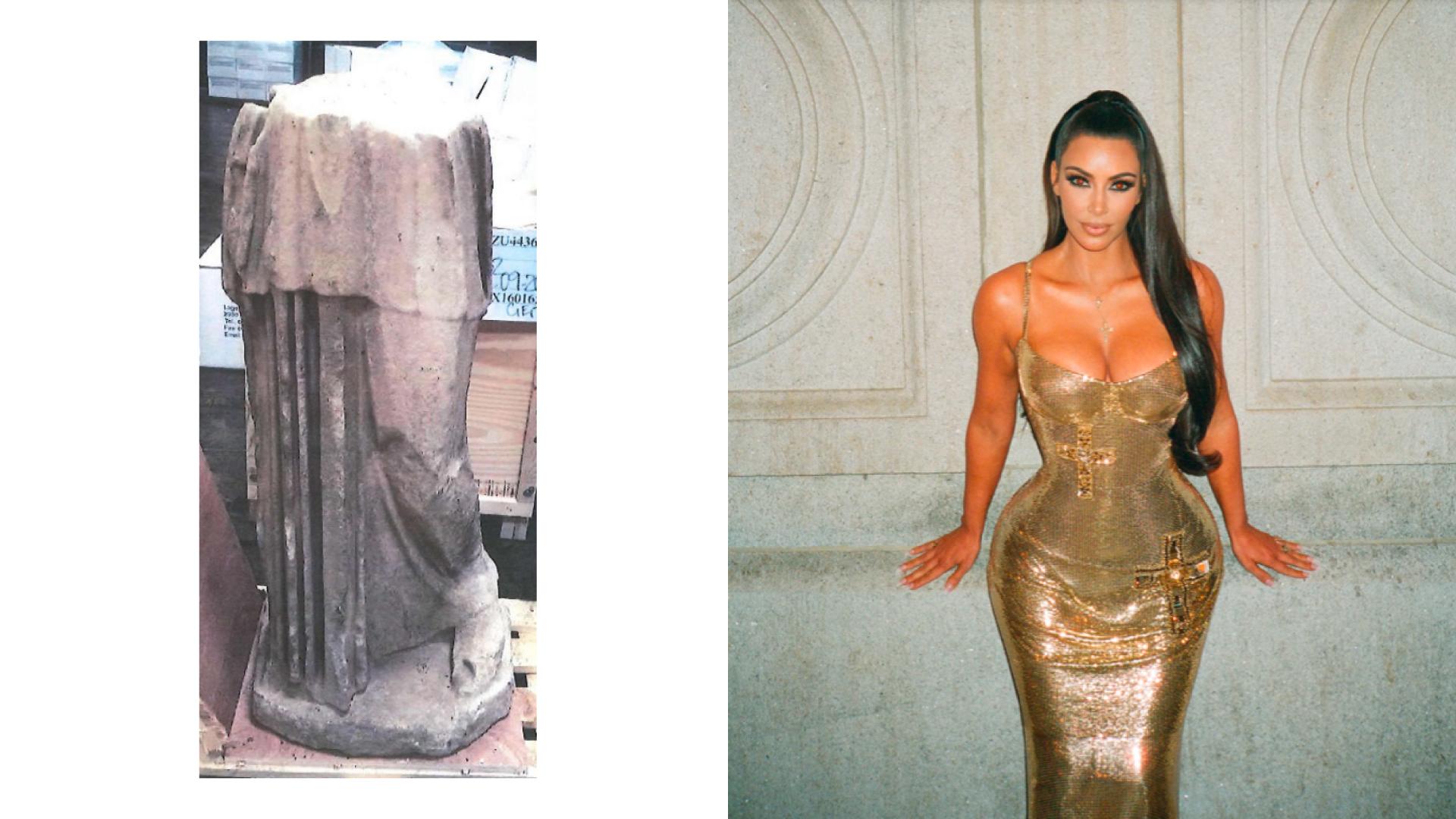 Американський уряд розшукує давньоримську скульптуру, яка ймовірно знаходиться в Кім Кардаш'ян