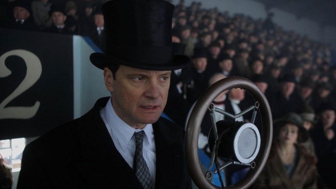 Кадр з фільму «Король говорить!», реж. Том Гупер