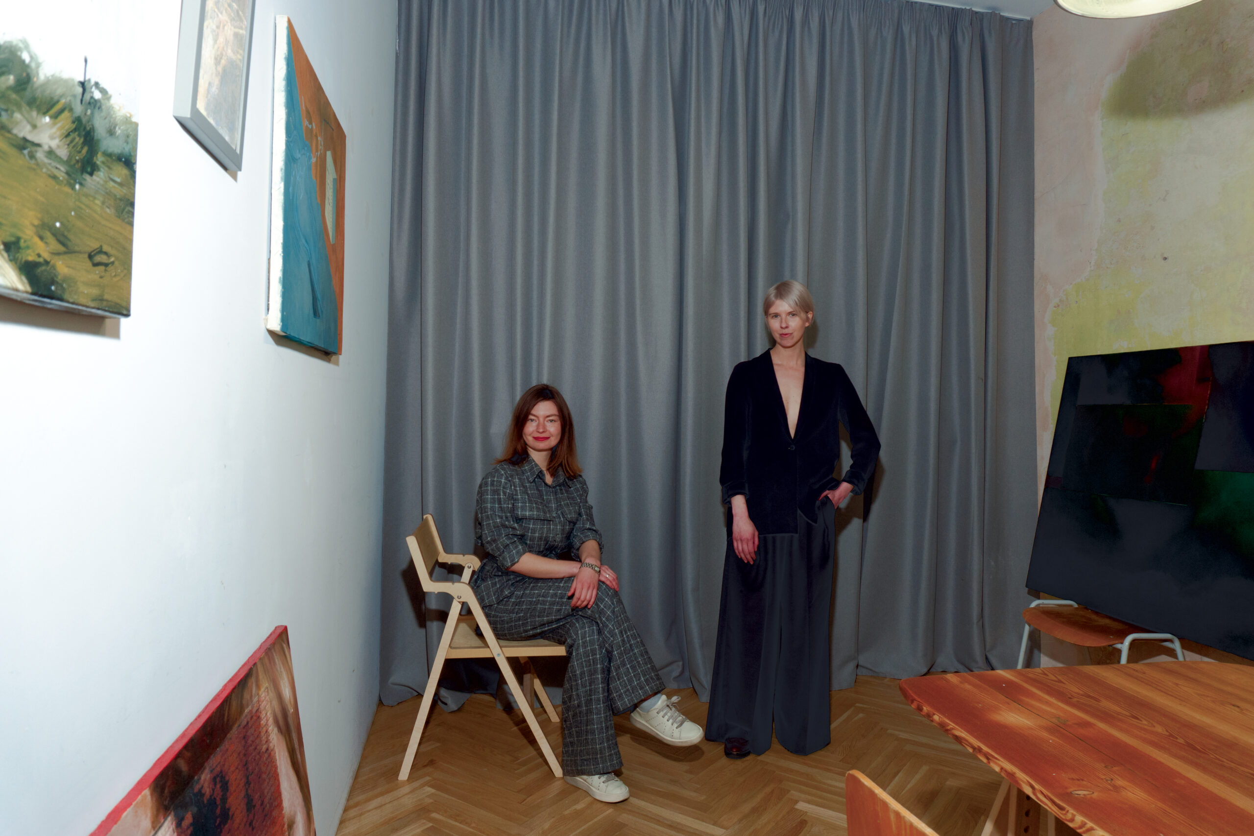 Лізавета Герман та Марія Ланько
