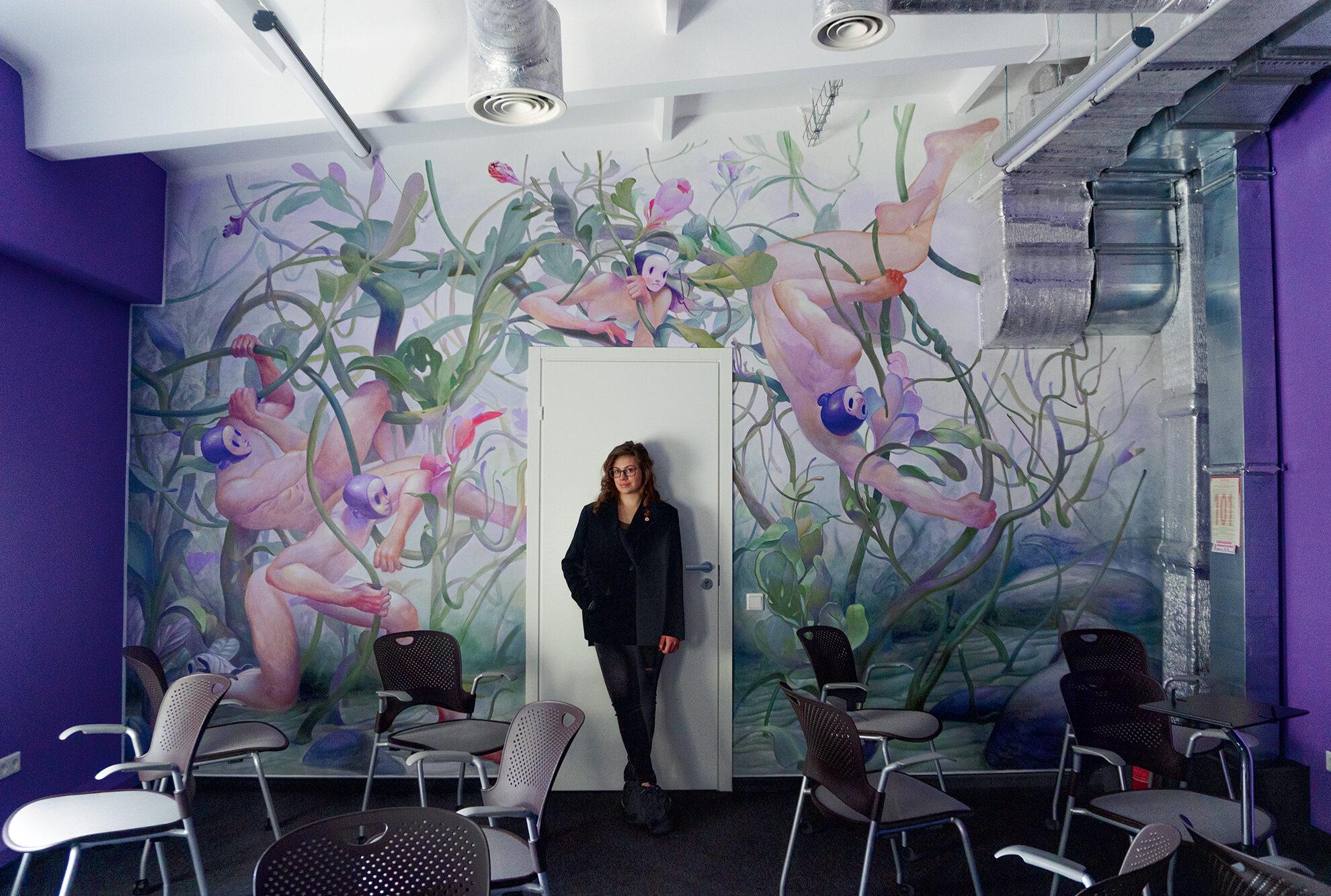 «Мистецтво в SupportYourApp переросло з хобі в світосприйняття» — Дар'я Лещенко про офіси як артоб'єкти