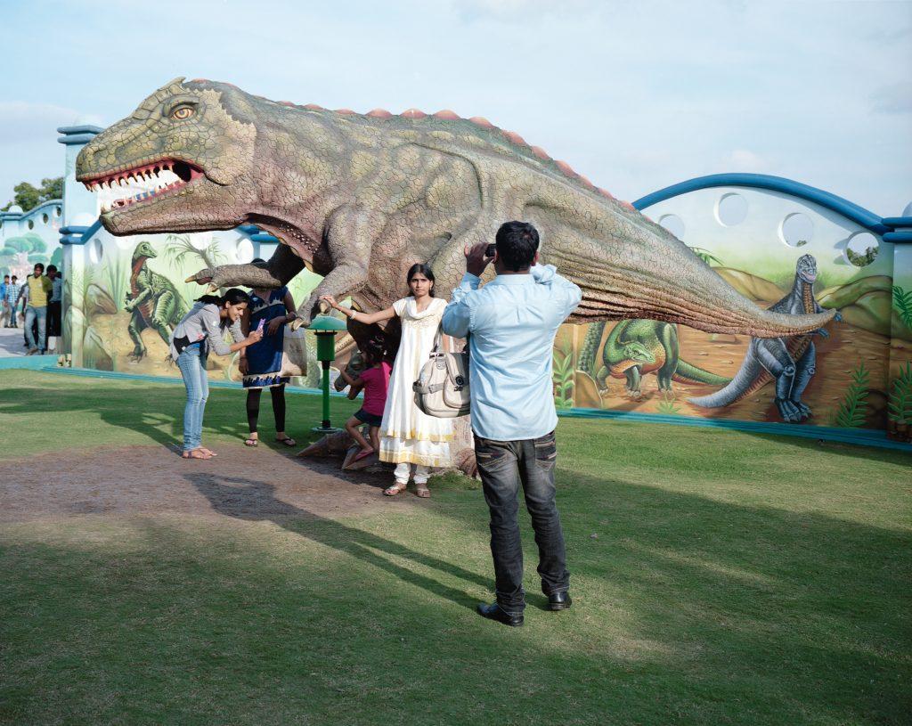 Kalpesh Lathigra, Dinosaurs and Cameras. Courtesy of Art for India