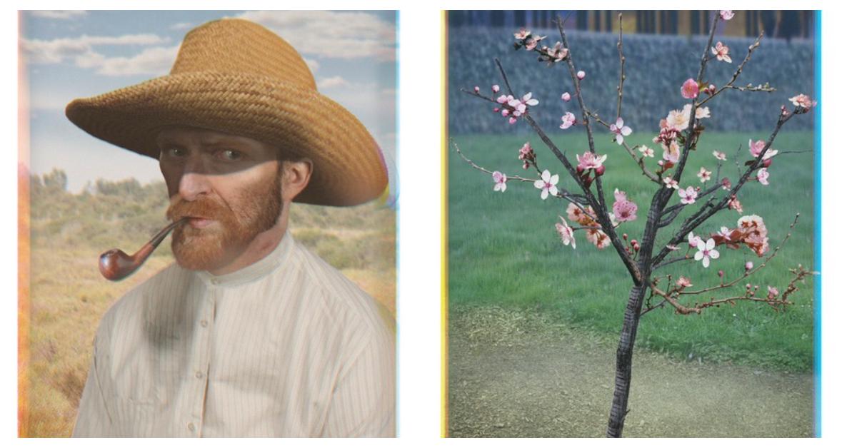 4 реалістичні малюнки Ван Гога від шанувальників творчості