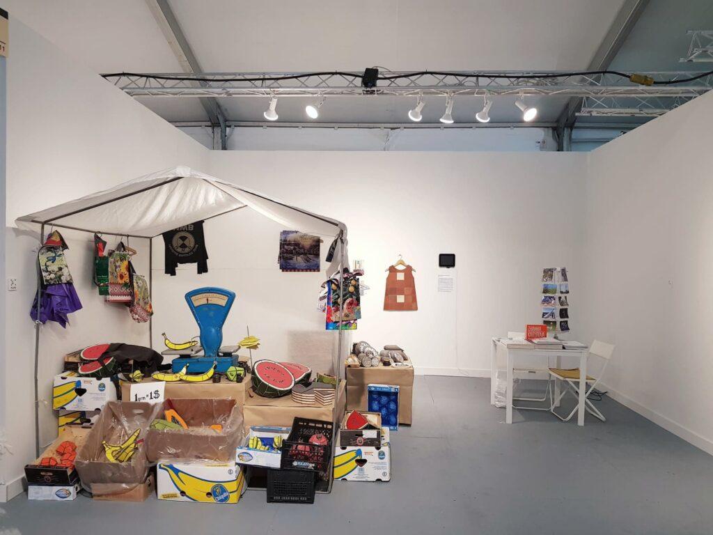 Pulse Miami Beach 2018, проєкт художниці «Маркет» представлений київською галереєю Voloshyn Gallery © vogue