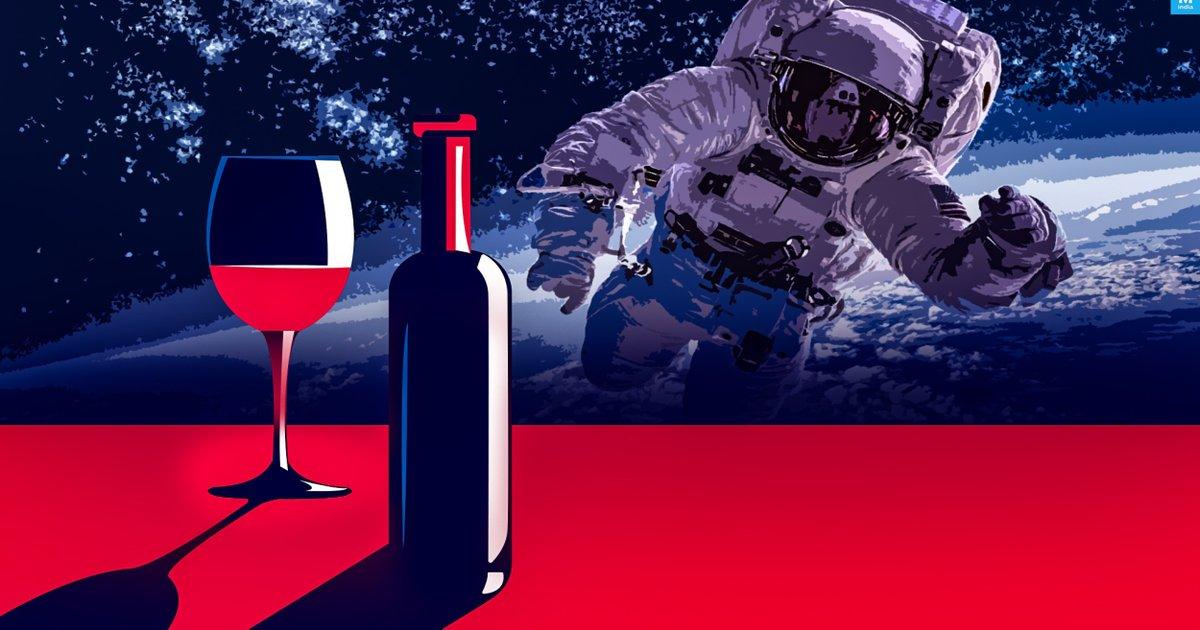 Вино — космос: аукціон Christie's продасть пляшку, яка пробула на космічній станції більше року