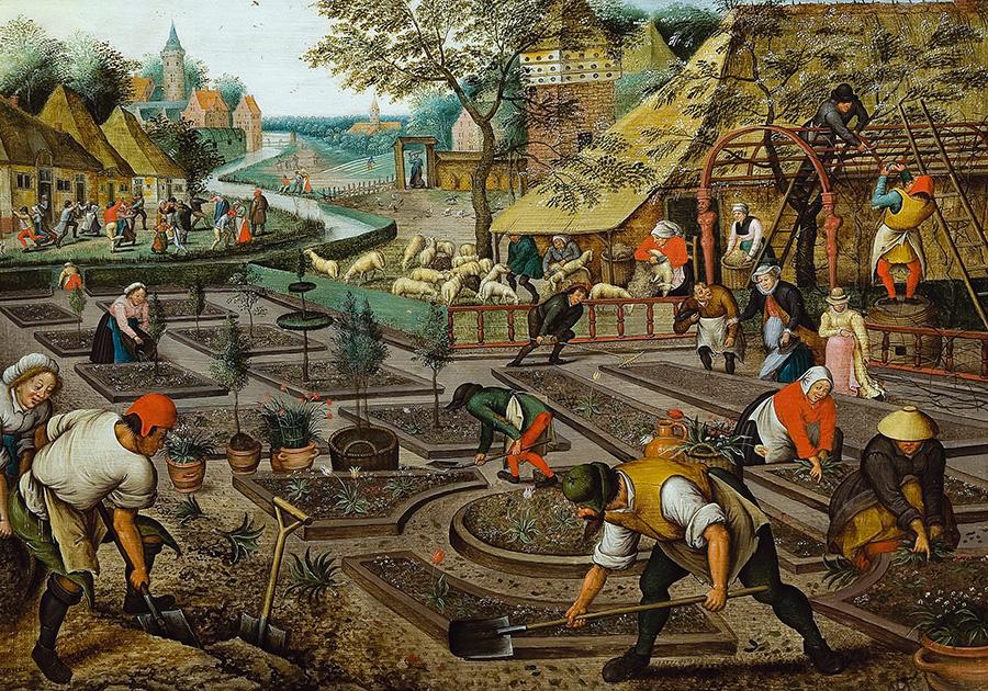 5 картин про сад і город