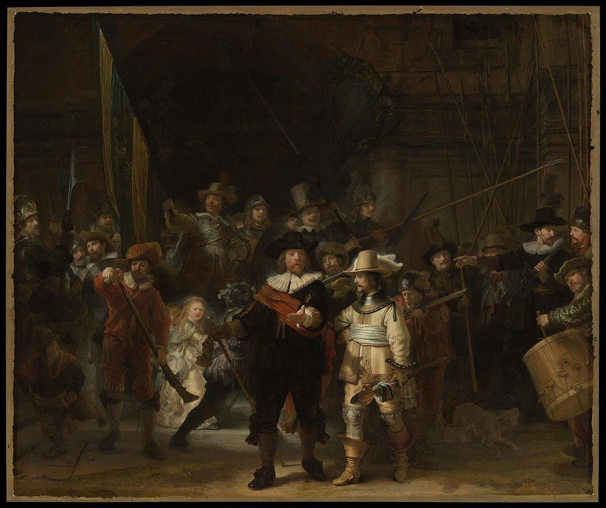 «Нічна варта», Рембрандт ©wiki
