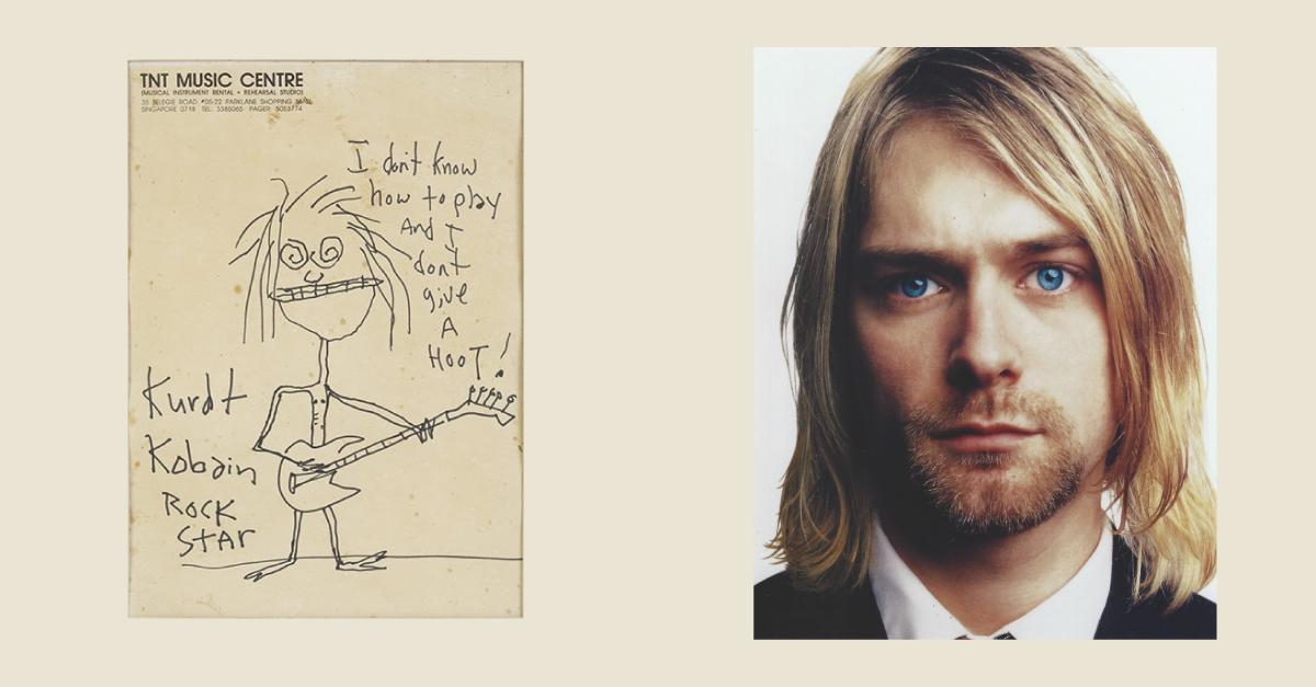 Продано: автопортрет Курта Кобейна пішов на аукціоні за 281 тисячу доларів
