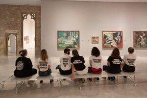 «Пікассо, кривдник жінок»: у Барселоні пройшла акція протесту