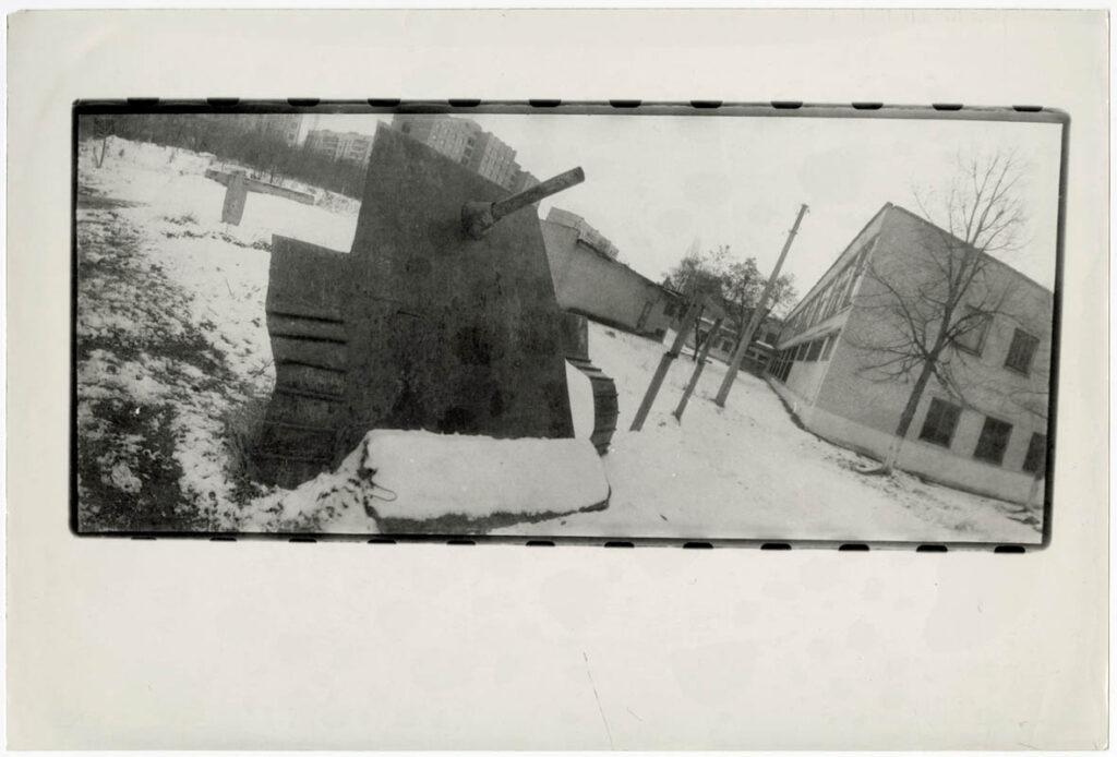"""Віктор Кочетов, «Фотопроби на роль Гітлера в серії """"Якби я був німцем""""», 1981 ©MOKSOP"""