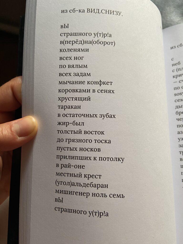 Із книжки «Останні вірші» Ігоря Чацкіна