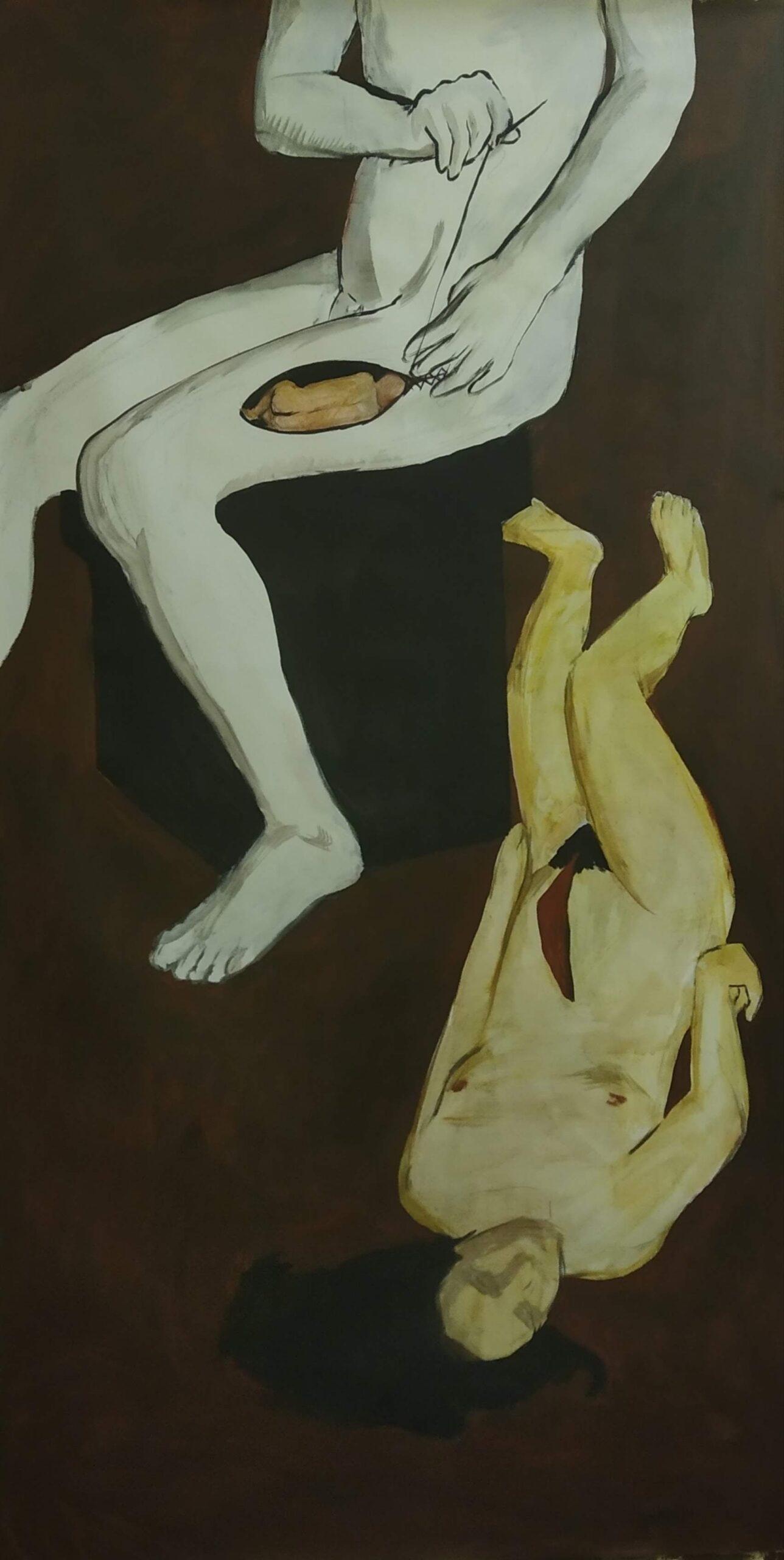 «Зевс рятує Діоніса», 2020