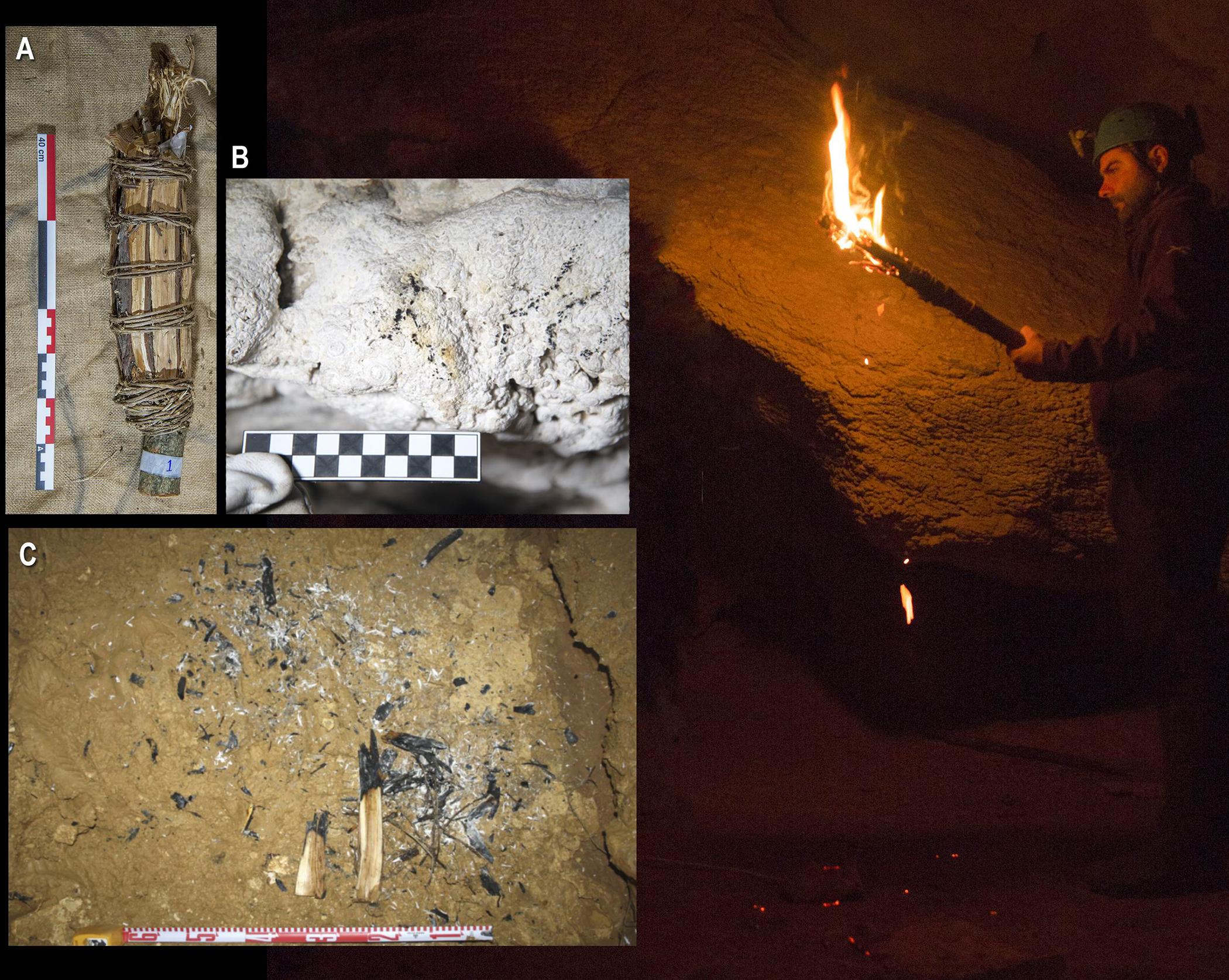 Дослідники провели дослідження на тему того, як в доісторичні часи художники освітлювали печери