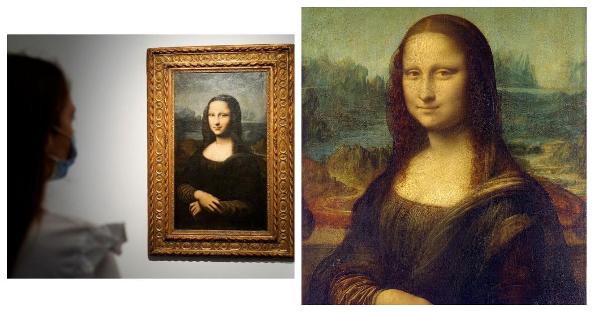 Зліва підробка:  «Мона Ліза Хеккінга»; справа оригінал «Мона Ліза» Леонардо ©wiki
