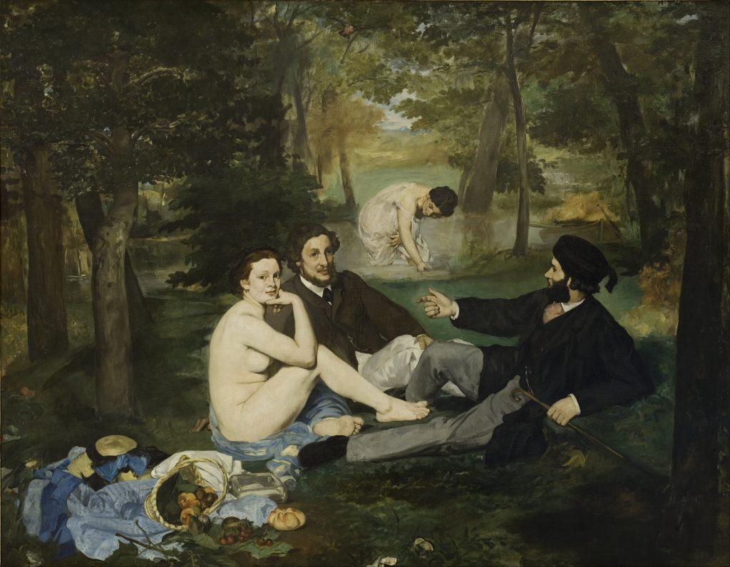 Едуар Мане, Le Déjeuner sur l'herbe (1863). Колекція Musée d'Orsay