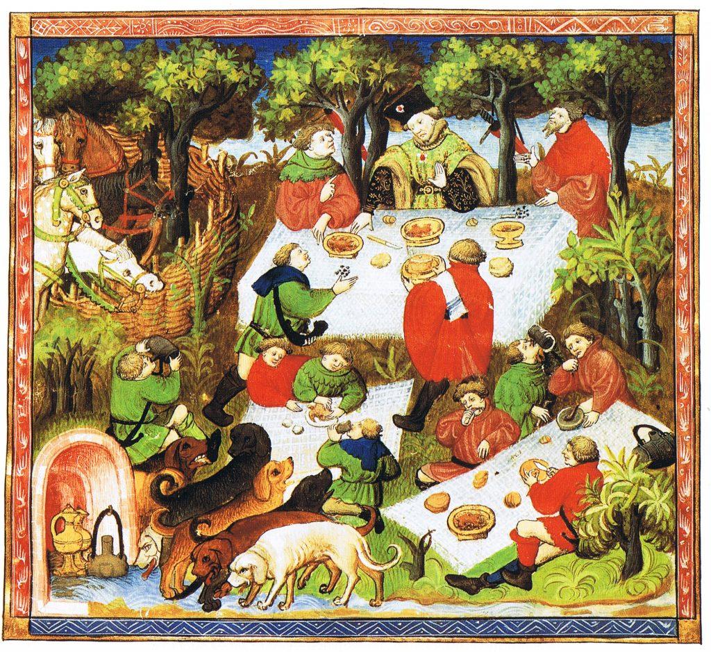 Французька версія The Hunting Book of Gaston Phebus, 15століття ©Wikimedia Commons