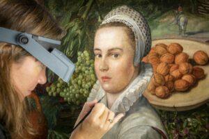 Несміяна: консерватори Англії підтвердили, що на картині «Продавчиня овочів» ніхто не посміхається