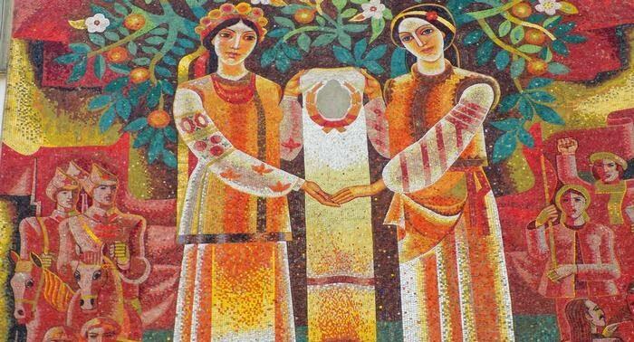 У Львові збережуть мозаїчне панно Євгена Безніско