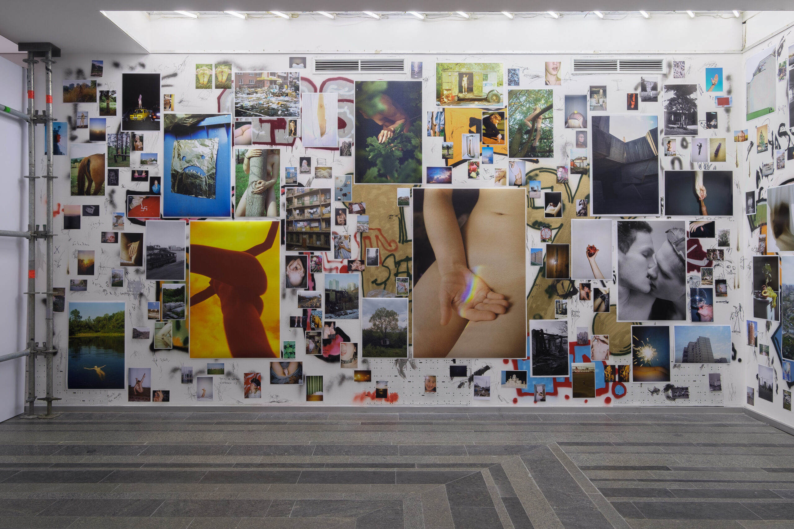 Саша Курмаз. Марна молодість. 2009–2019 З експозиції виставки «Згадати той день коли» у PinchukArtCentre