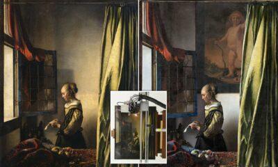 Під час реставрації роботи Вермеєра знайшли прихований образ Амура