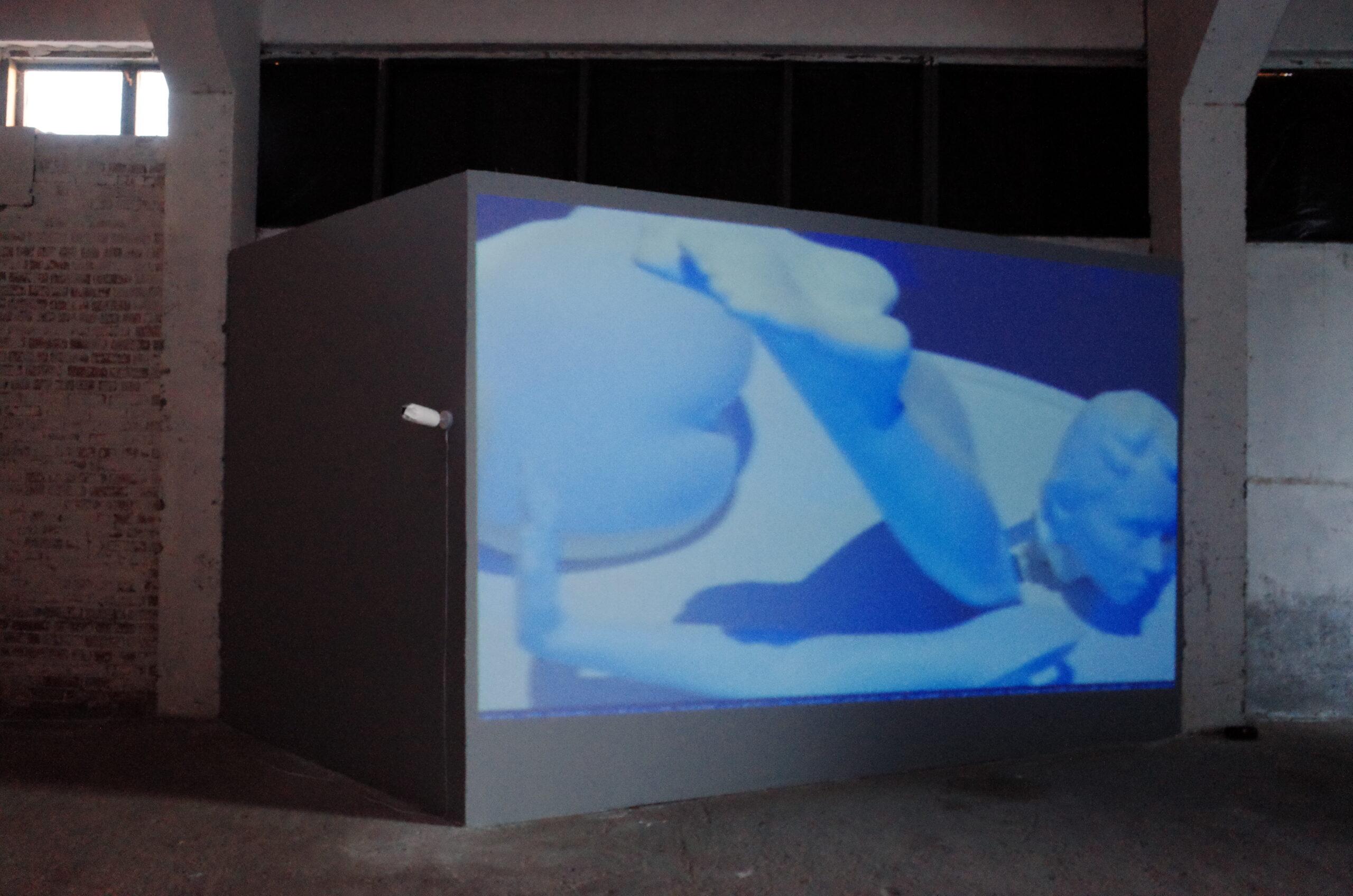 Julia Beliaeva, Hotel Quarantine. Music: Insomnia Taxxi. Video, installation, 2020 - 2021. Юлія Беляєва. Готель Карантин. Музика: Insomnia Taxxi.Відео, інсталяція, 2020 - 2021