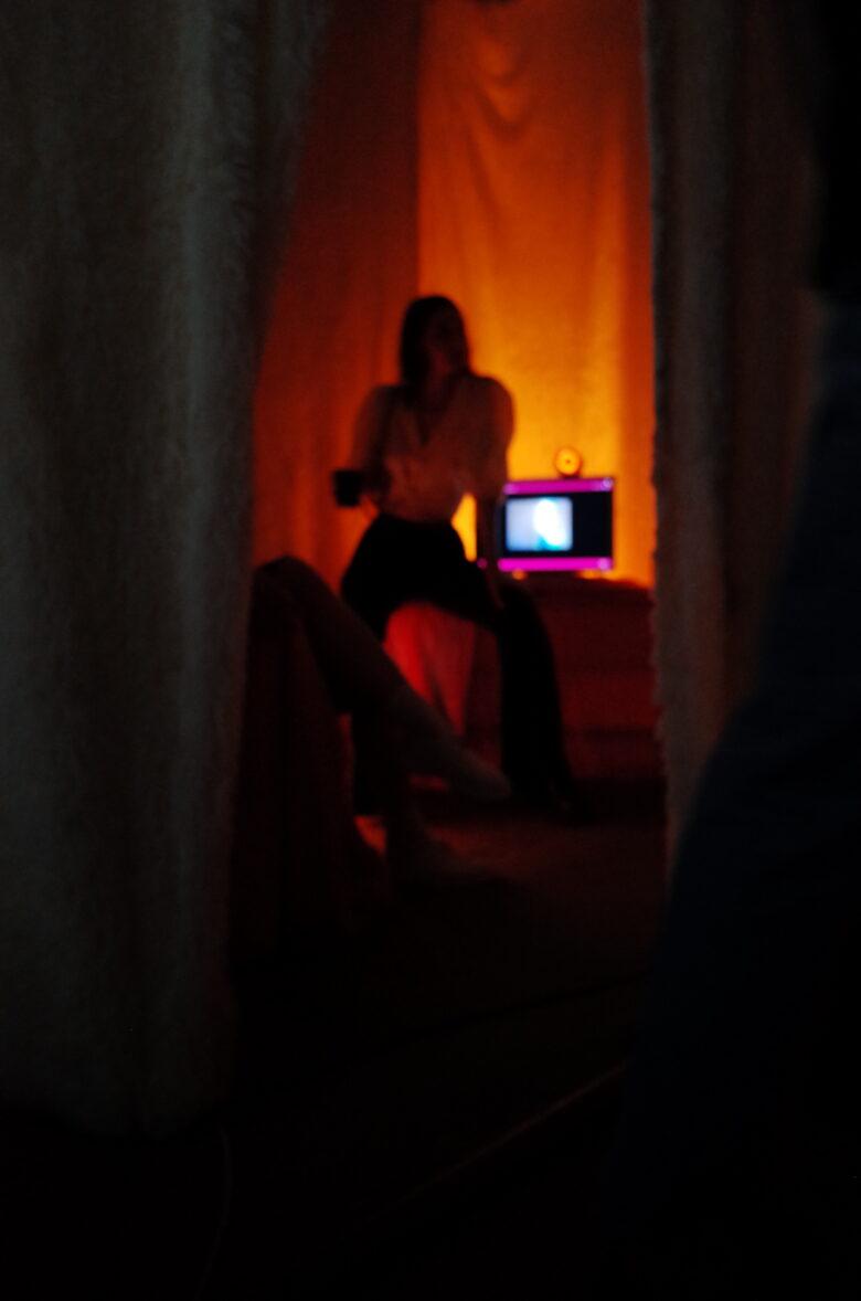 Variable name (Marina Khrypun & Valerie Karpan). Trust Room. Interactive installation, digital art, 2020 - 2021.Назва змінна (Марина Хрипун & Валерія Карпань). Trust Room. Інтерактивна інсталяція, digital art, 2020 - 2021.